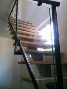 Rampe D'escalier vitré
