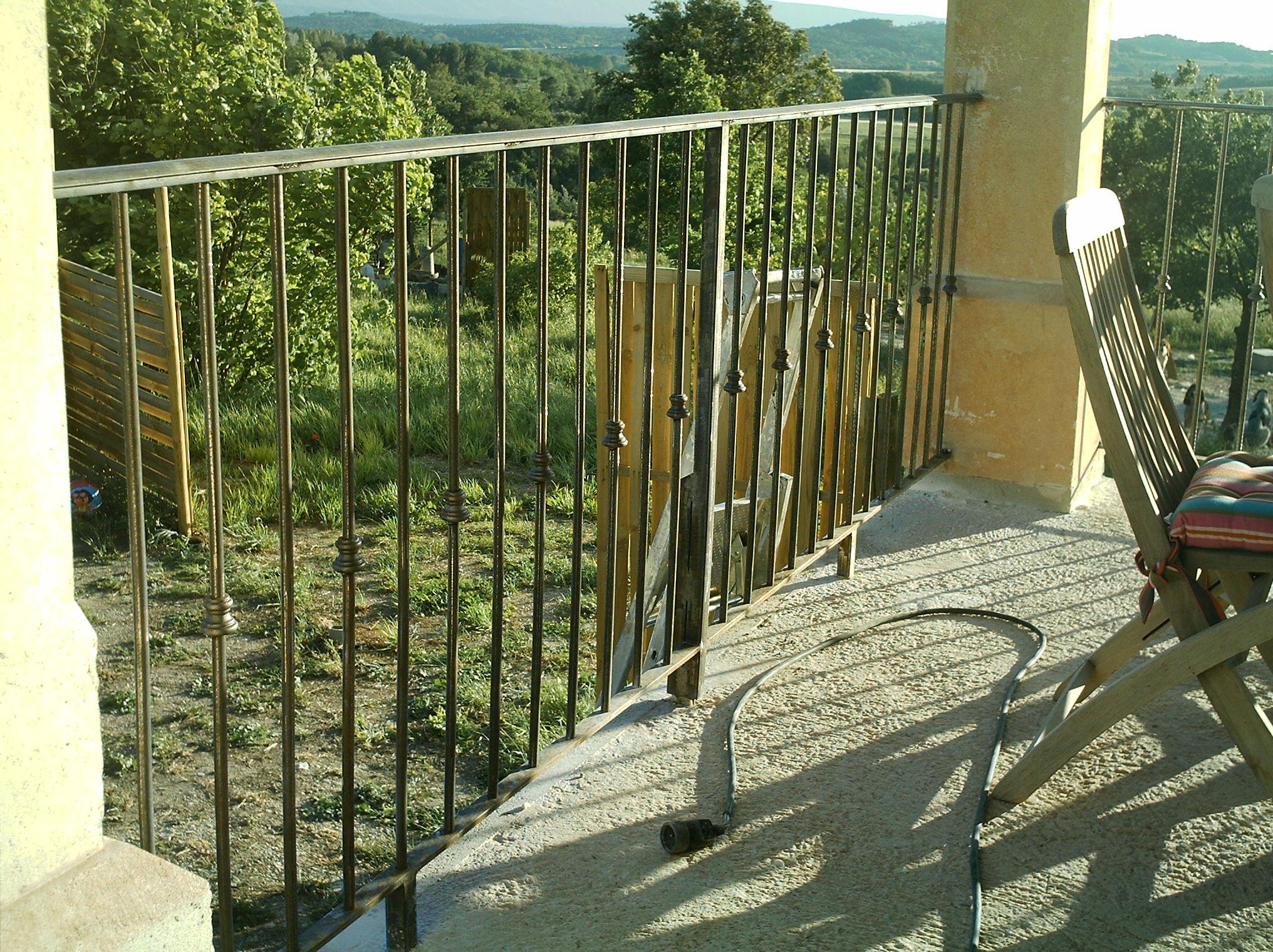 Rampe De Terrasse
