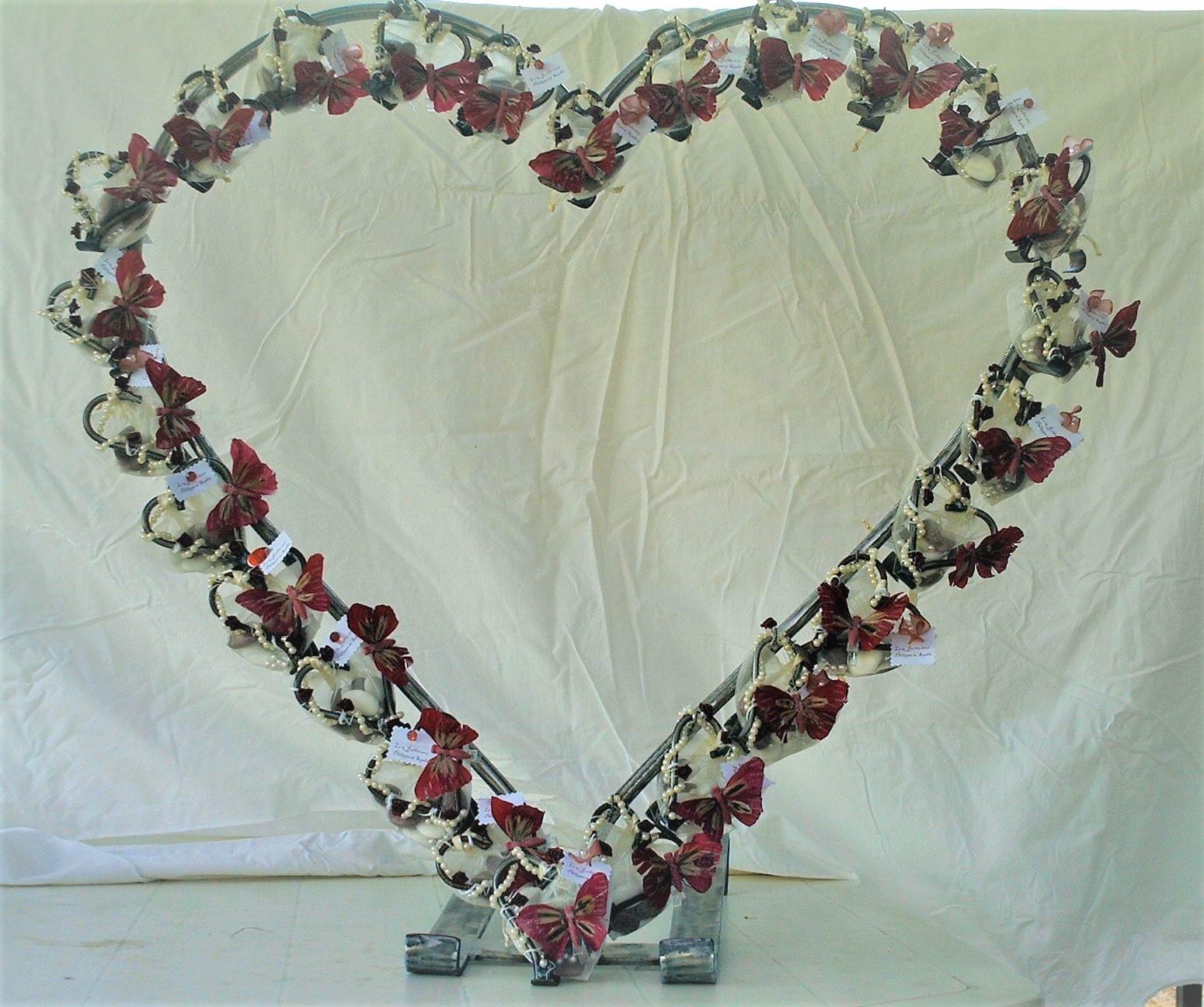 Support Coeur Dragées